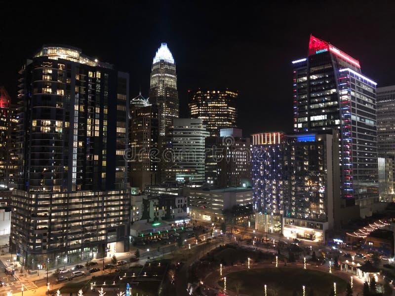 Charlotte Carolina del Norte foto de archivo