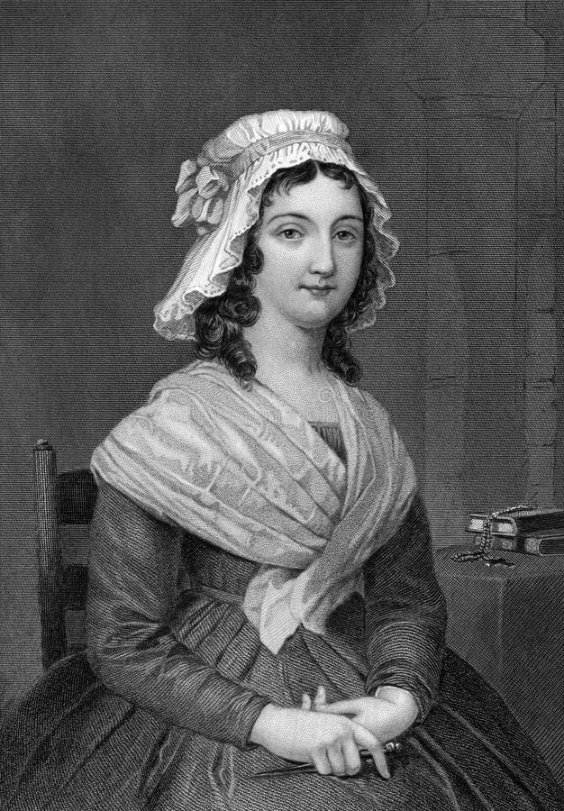 Charlotte Corday royaltyfri foto