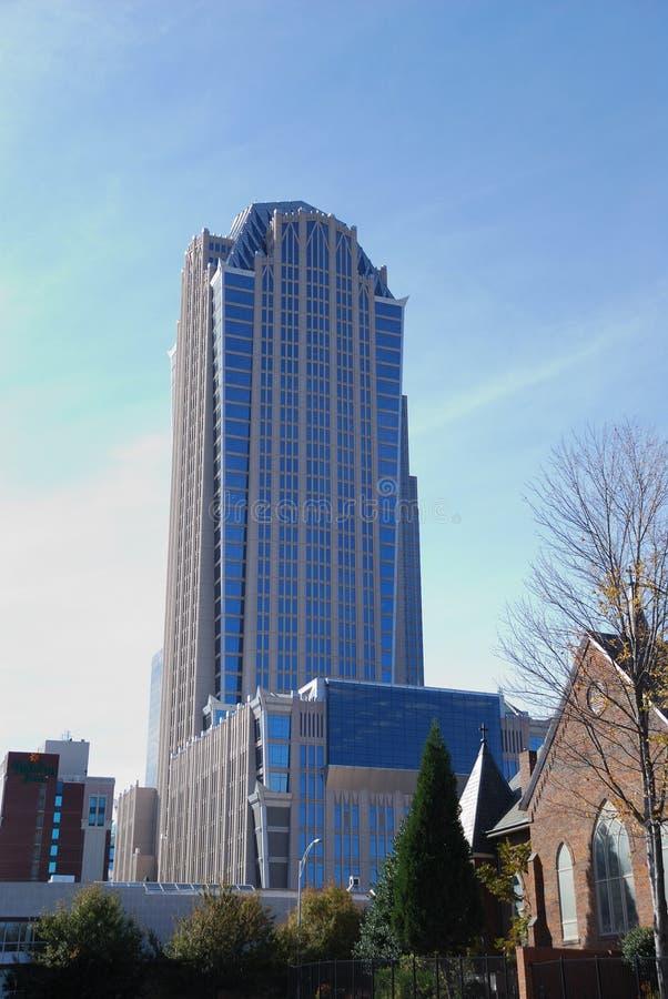 Charlotte da baixa North Carolina foto de stock royalty free