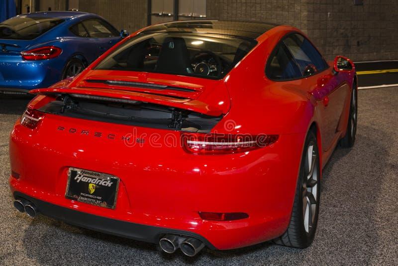 Charlotte International Auto Show 2014 arkivbilder