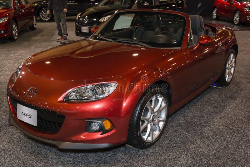 Charlotte International Auto Show 2014 royalty free stock photo