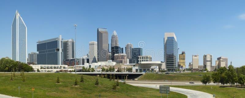 Charlotte la Caroline du Nord Skline photos libres de droits