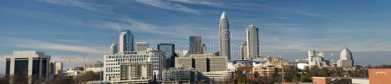 Download Charlotte, NC Panorama stock photo. Image of carolina - 6428784