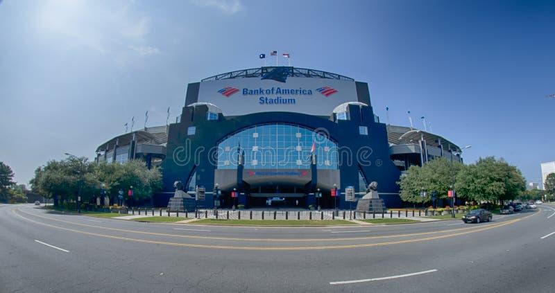 CHARLOTTE, NORD CAROLINA - agosto 2014: Vista recentemente di reno immagine stock