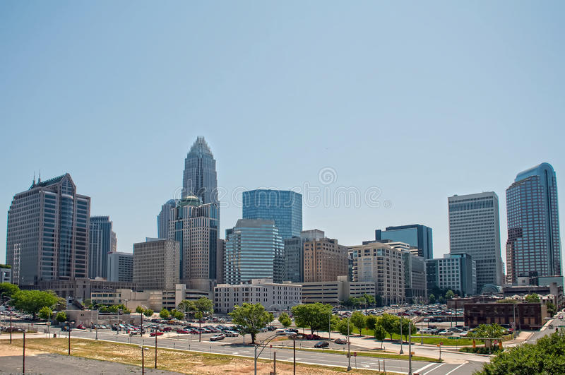 Charlotte North Carolina immagine stock libera da diritti