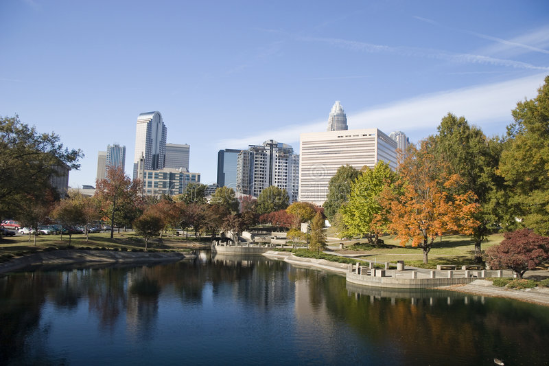 Charlotte, North Carolina stock images