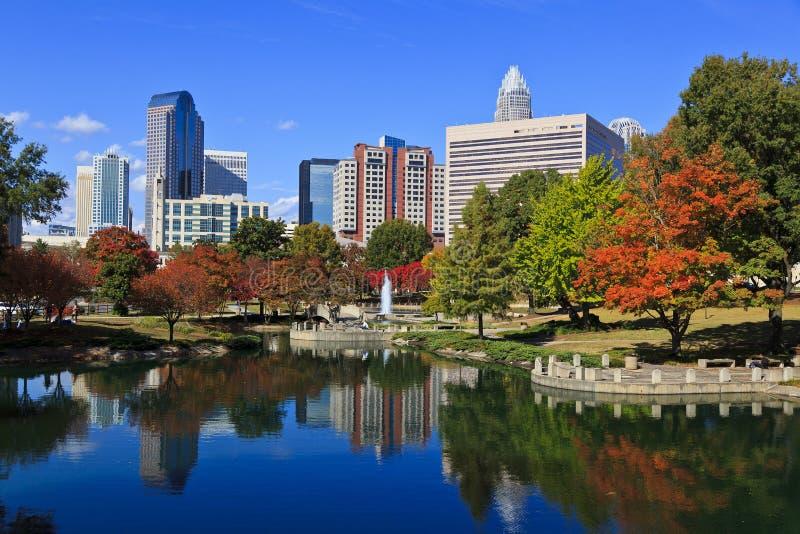 Charlotte North Carolina royalty free stock images