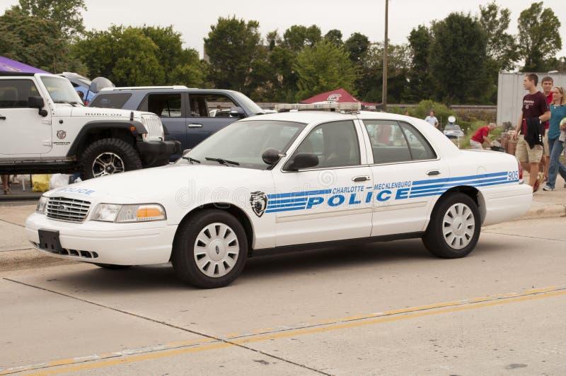 Charlotte Pólnocna Karolina samochód policyjny obrazy royalty free