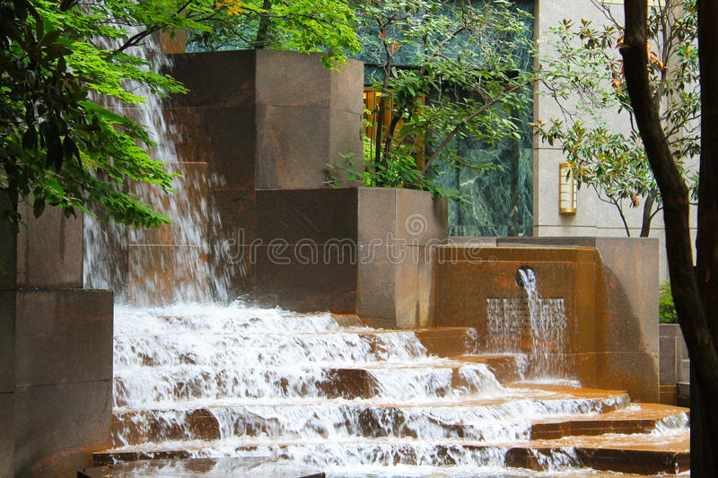 Charlotte Waterfall photographie stock libre de droits