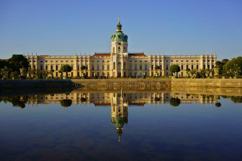 Charlottenburg pa?ac wielki pa?ac w Berlin, Niemcy zdjęcie stock