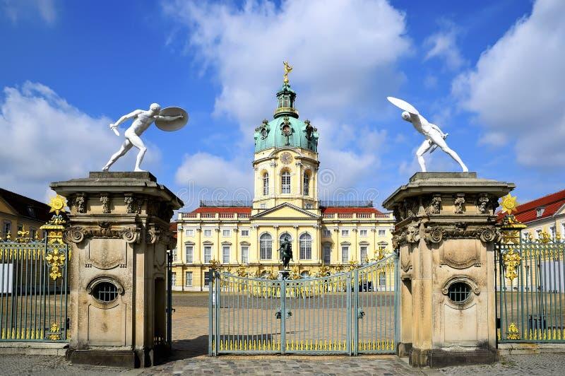 Charlottenburg palace stock photo