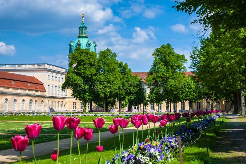Charlottenburg-Palast in Berlin, Deutschland stockfotos
