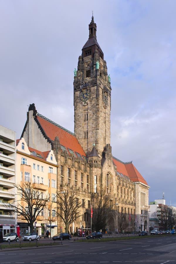 Charlottenburg-Rathaus in Berlin, Deutschland stockfoto