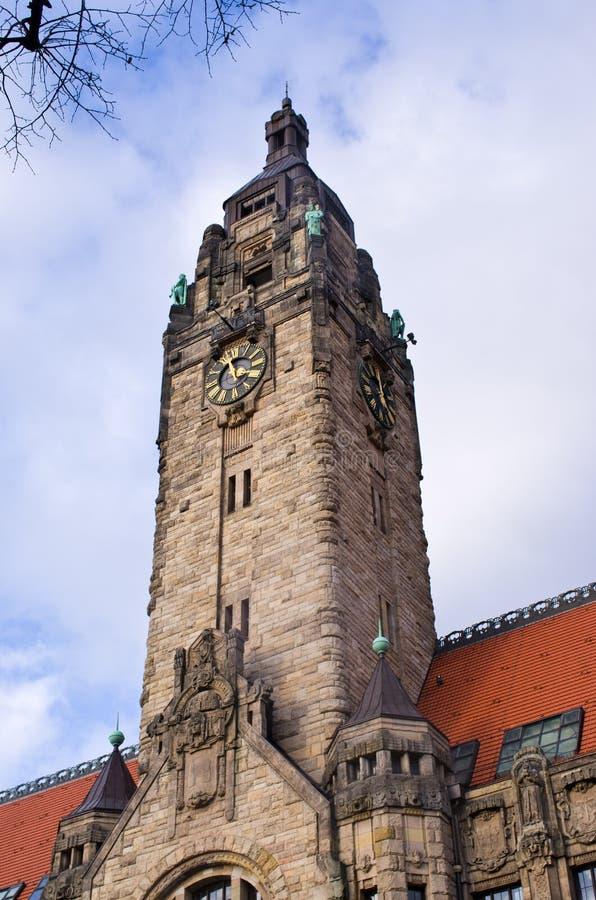 Charlottenburg-Rathaus in Berlin, Deutschland lizenzfreie stockfotos