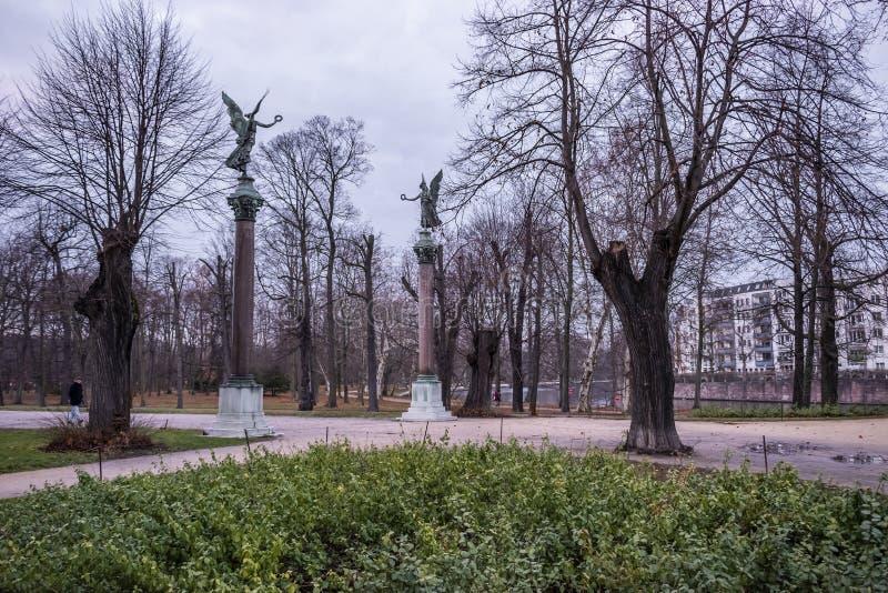 Charlottenburg slott, Berlin royaltyfri foto