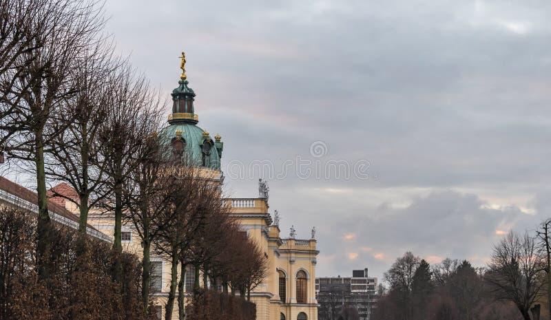 Charlottenburg slott, Berlin royaltyfria foton