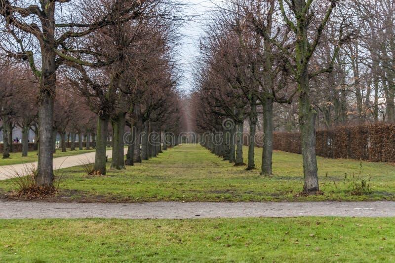 Charlottenburg slott, Berlin arkivbilder