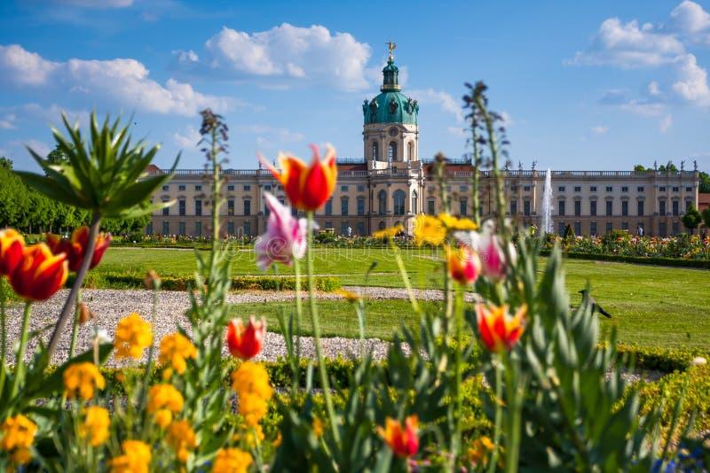 Charlottenburg slott i Berlin, Tyskland royaltyfri bild