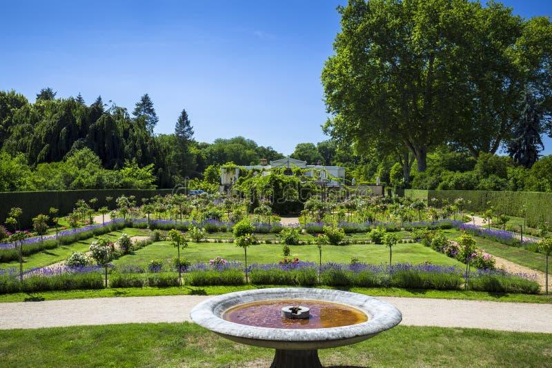 Charlottenhof宫殿在Sanssouci公园在波茨坦 德国 图库摄影