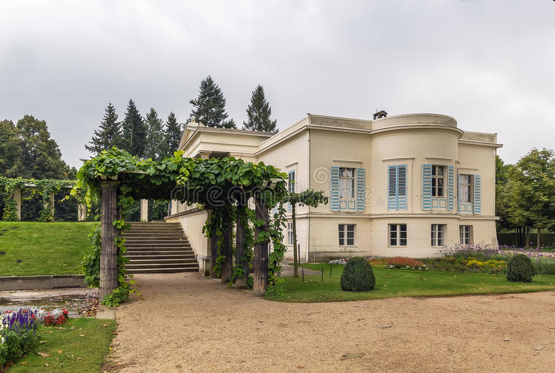 Charlottenhofpaleis, Potsdam, Duitsland royalty-vrije stock fotografie