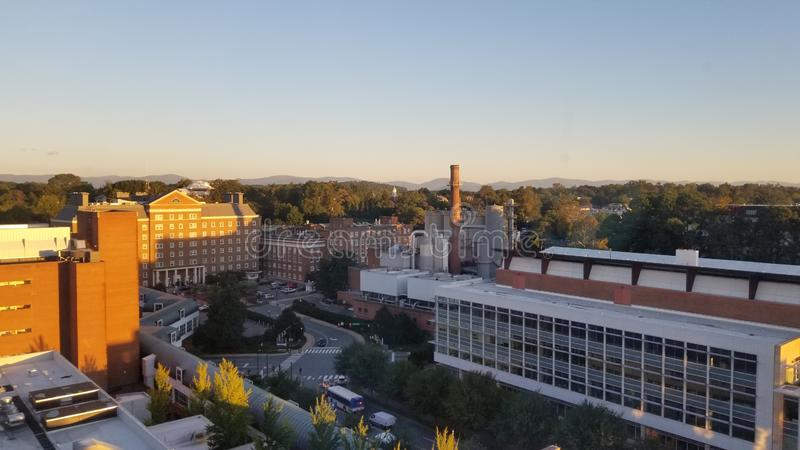 Charlottesville la Virginia immagine stock