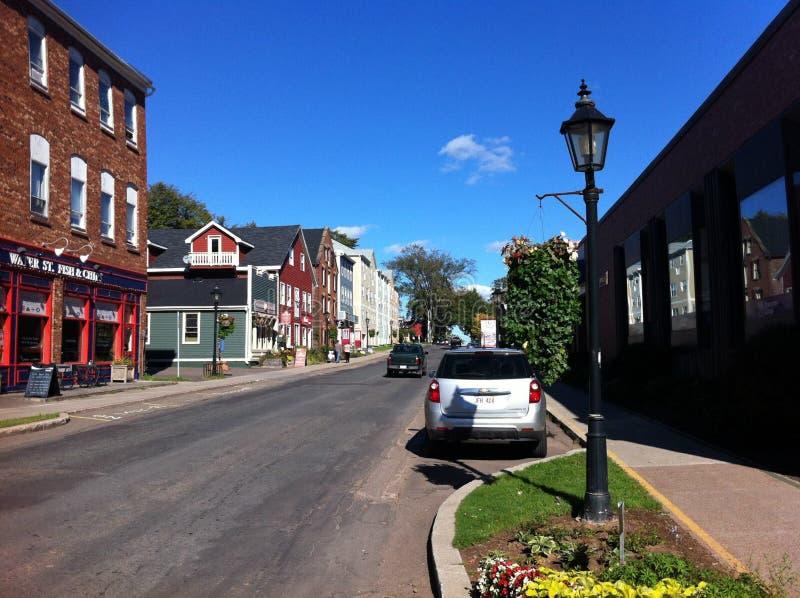 charlottetown foto de archivo