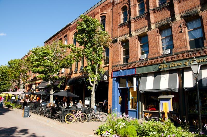 CHARLOTTETOWN, CANADÁ - 8 de agosto de 2016: imagenes de archivo
