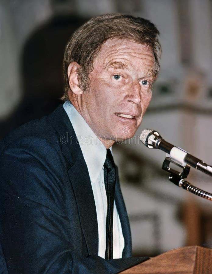 Charlton Heston immagine stock libera da diritti