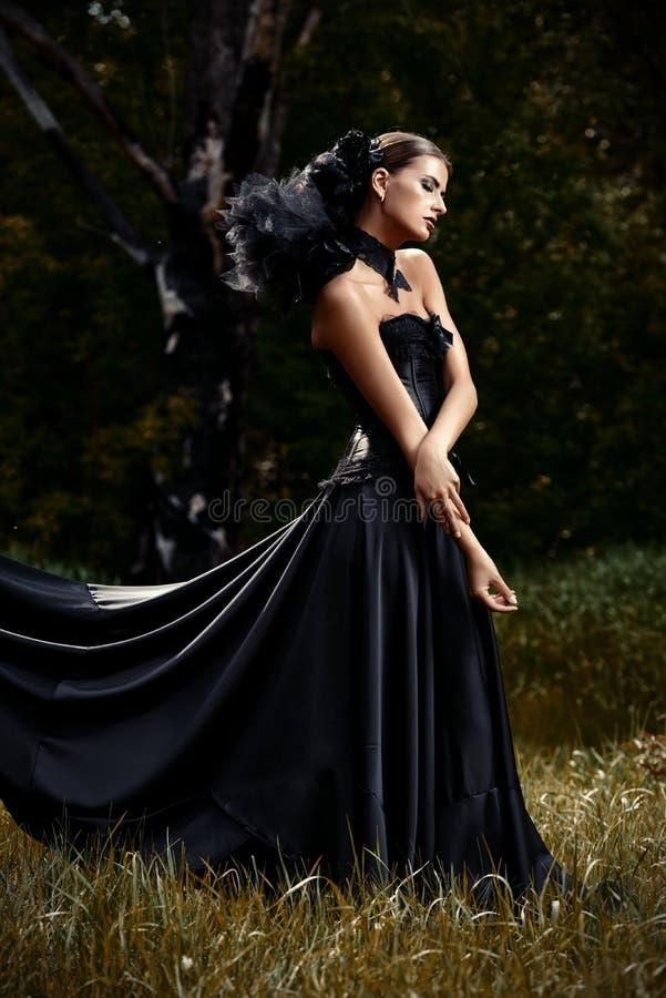 Charm of black royalty free stock photo