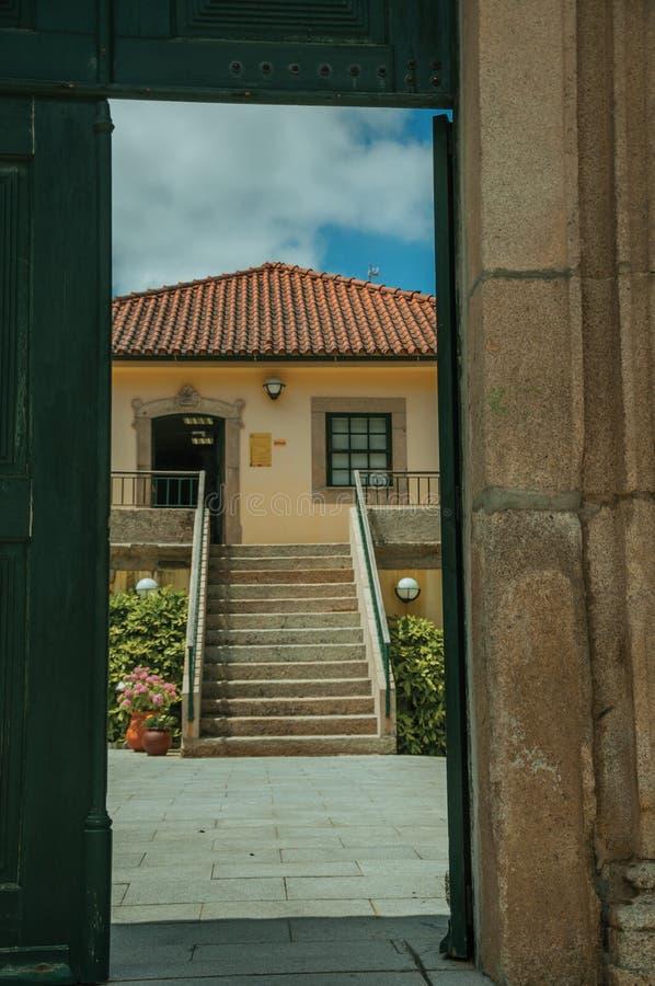 Charma fasaden av Toy Museum House fotografering för bildbyråer