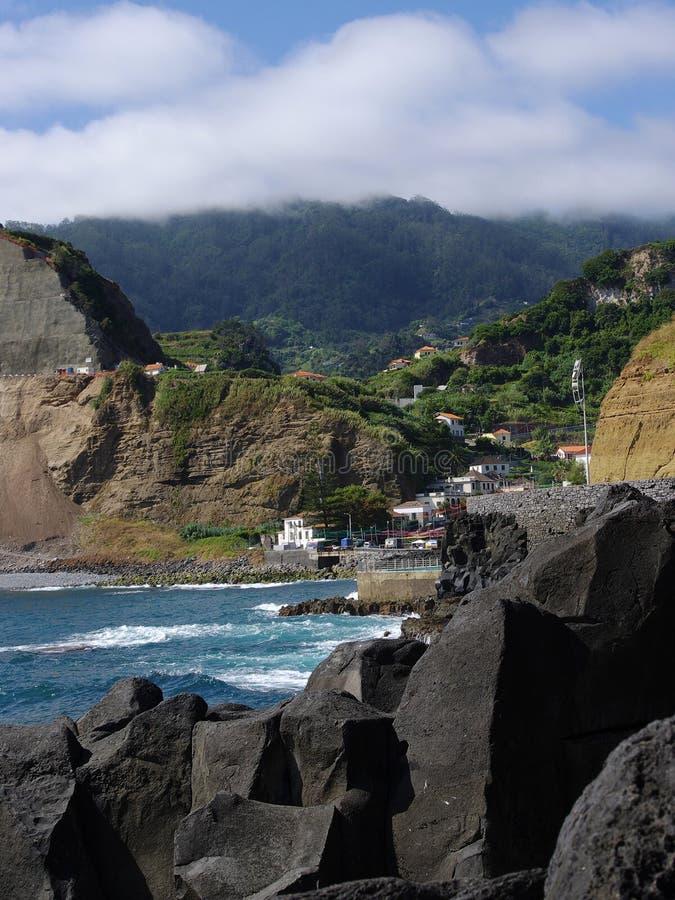 Charmant dorp Porto DA Cruz royalty-vrije stock afbeeldingen