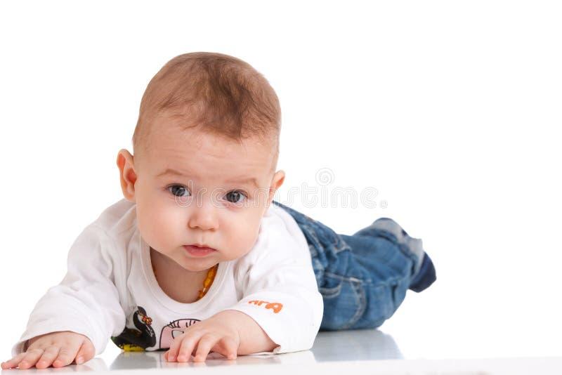 Charmante baby stock afbeelding