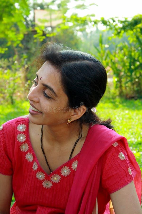 Charmante huisvrouw Punjabi stock afbeeldingen