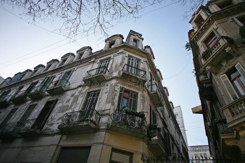 Charme von Wegen in Buenos Aires lizenzfreie stockfotos