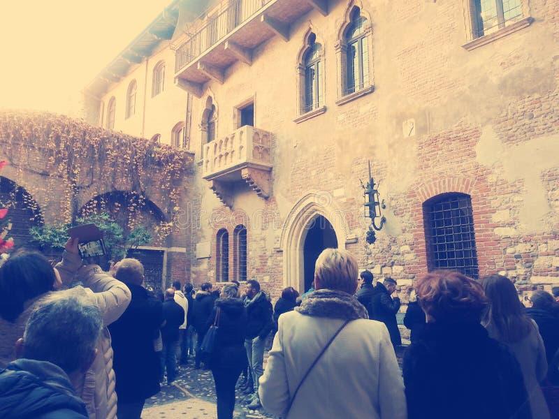 Charmeur e Giulietta royalty-vrije stock foto's