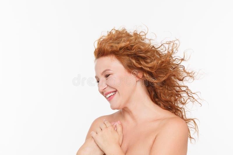 Mogen kvinna naken