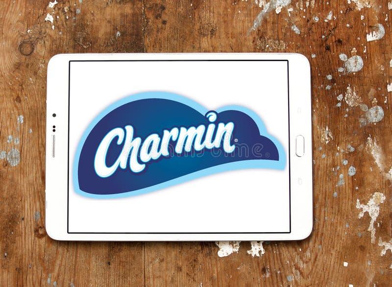 Charmin papieru toaletowego gatunku logo obraz stock
