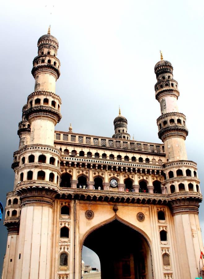 charminar海得拉巴印度 库存照片