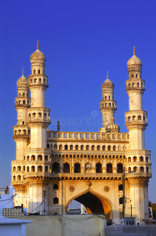 Download Charminar stock photo. Image of structure, asia, nizams - 2716434