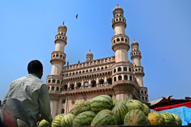 Download Charminar editorial stock photo. Image of cities, spots - 27884908
