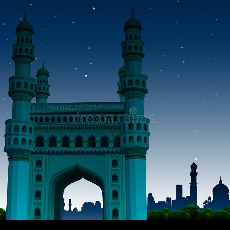 Download Charminar, Hyderabad, India Stock Illustration - Image: 11071215