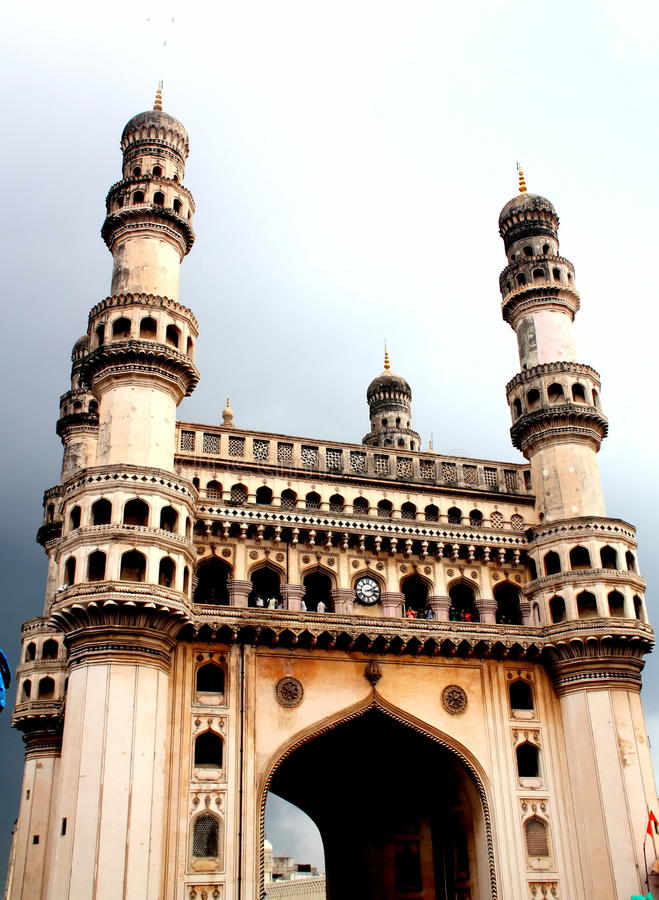 Charminar, Hyderabad, Indien stockfotos