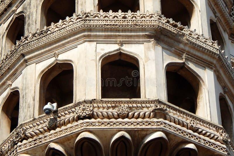 Charminar Hyderabad, Indien royaltyfri fotografi