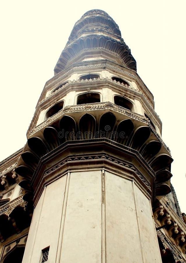 Charminar Minaret, Hyderabad, India Stock Image