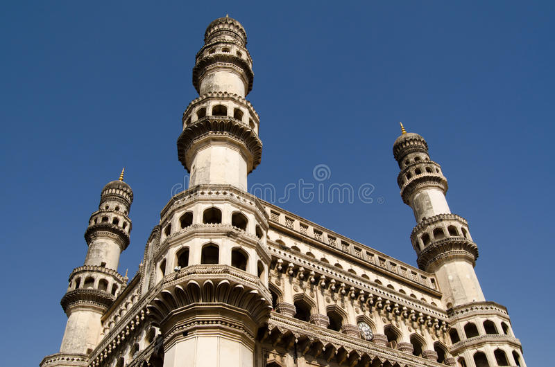 Download Charminar Tower, Hyderabad stock photo. Image of typically - 30574798