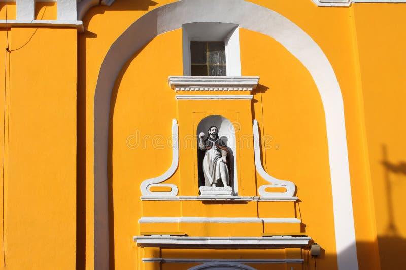 Puebla, Mexico Church Details stock images