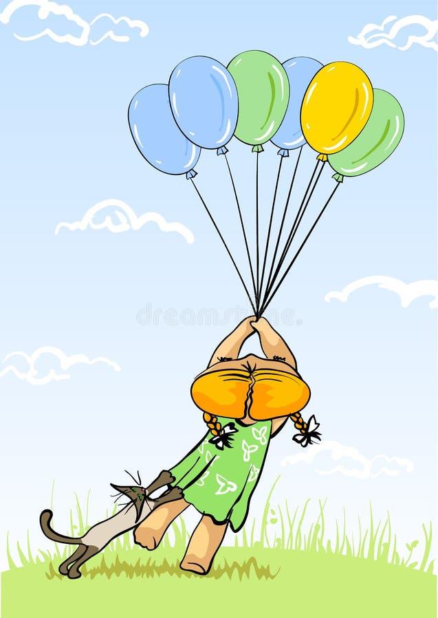 Download Charming girlie stock illustration. Illustration of childhood - 1464001