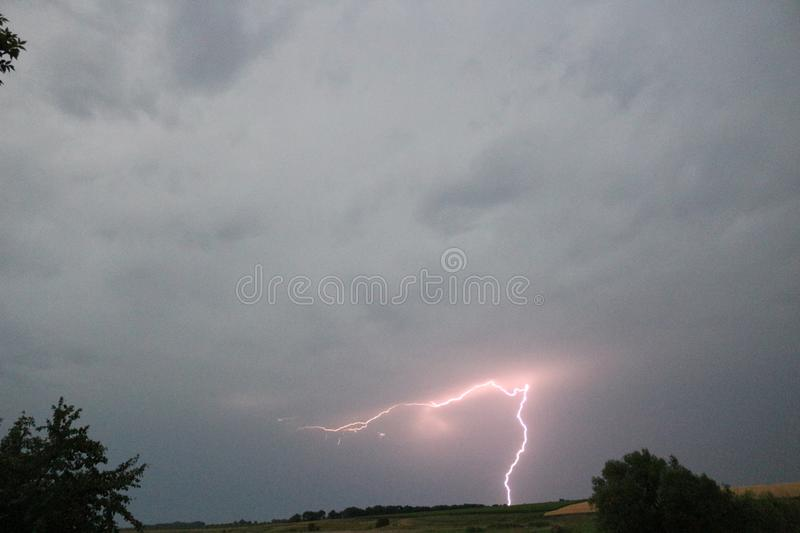 Charming lightning stock photos