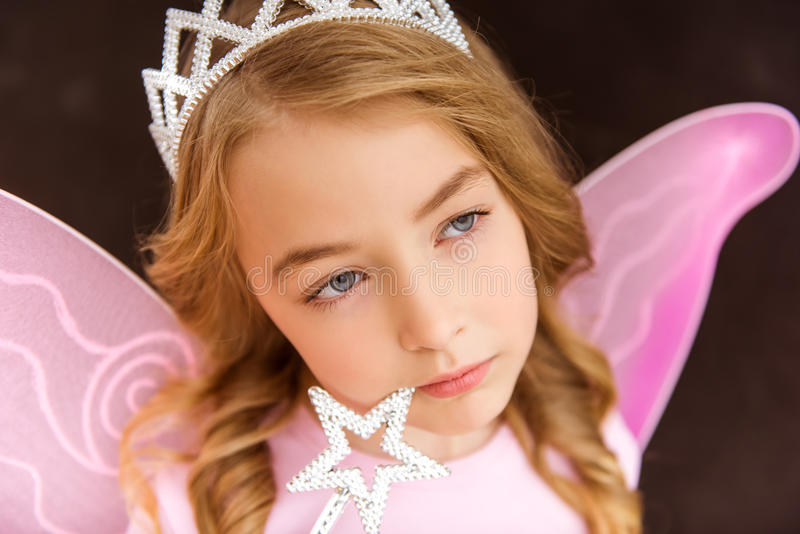 Charming little fairy stock photo