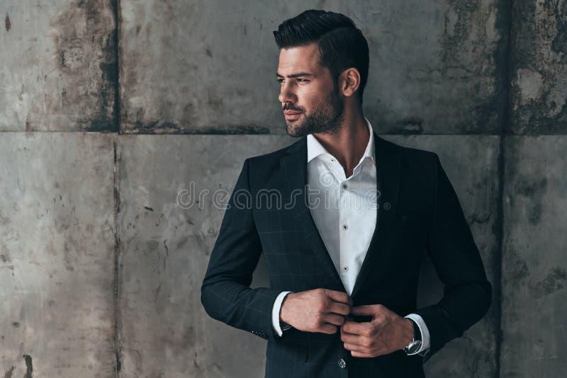 Charming man. royalty free stock photo